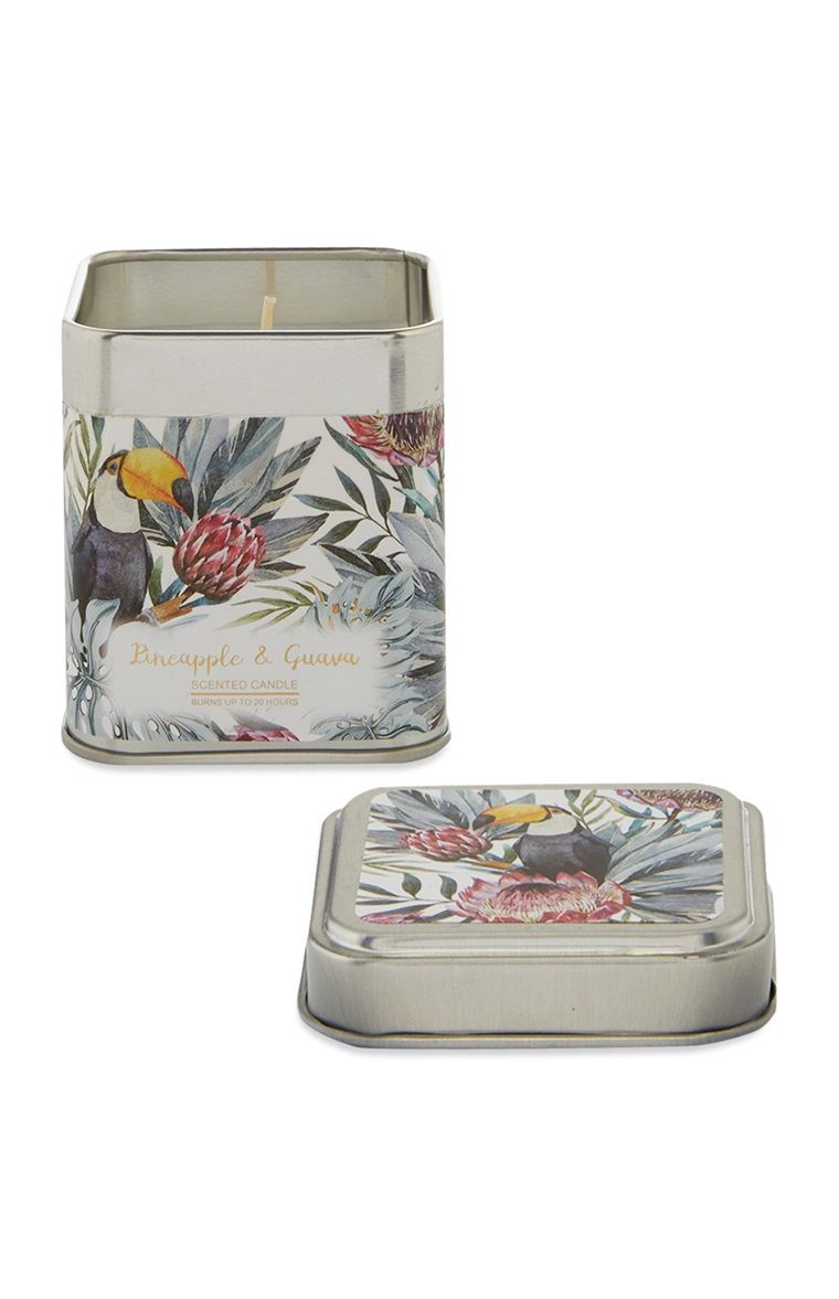 Primark - Toucan Tin Candle