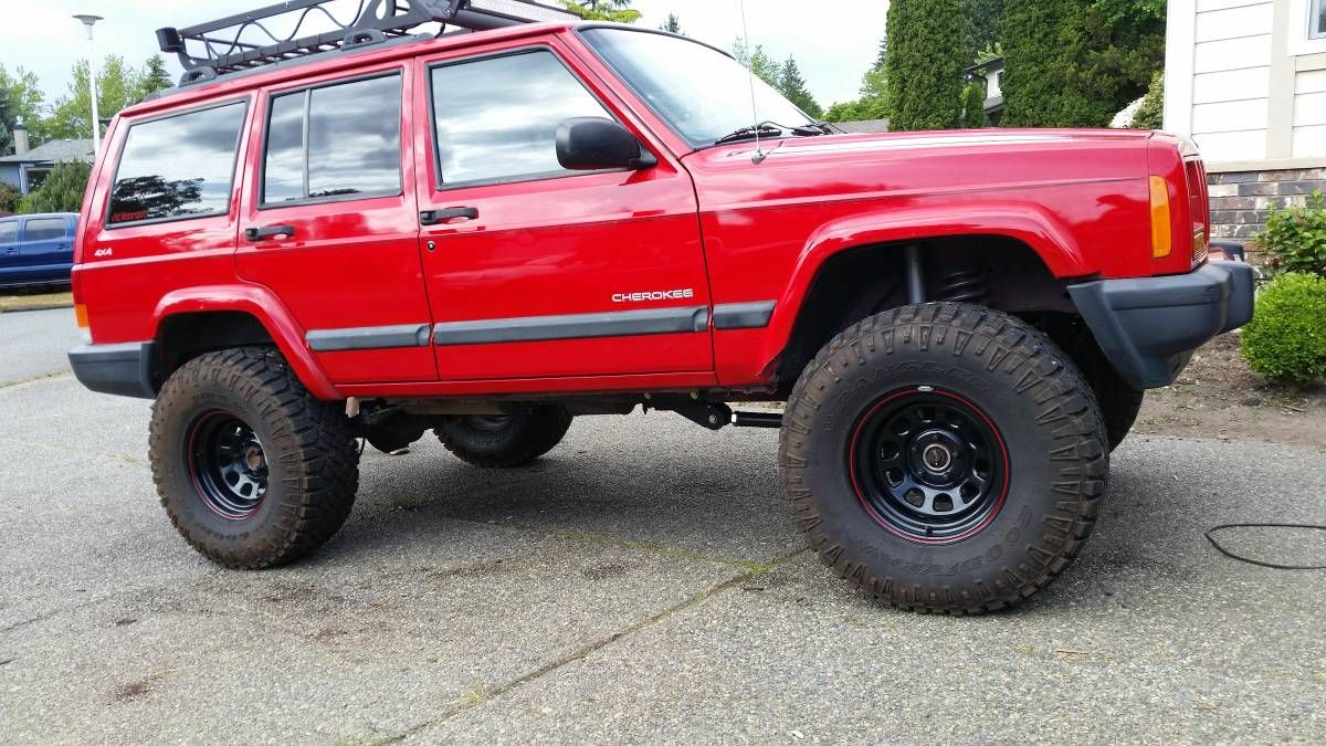1999 Jeep Cherokee Xj 4 5 Rc Lift 33x12 5r15 1999 Jeep