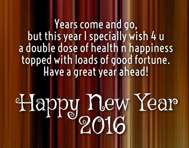 2016 New Year Wishes Messages Happy New Year 2019 Wishes Quotes