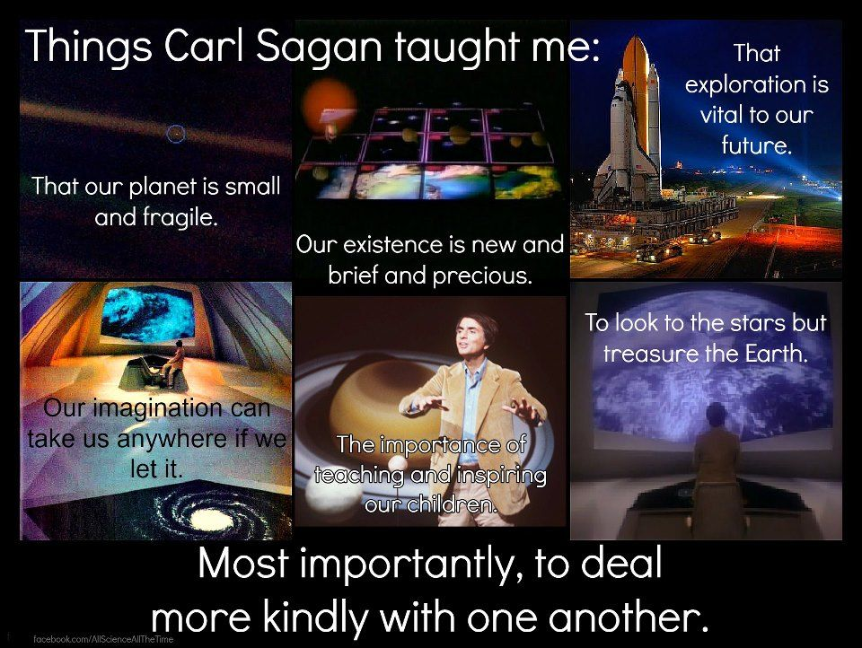 Cosas que CarlSagan me enseñó