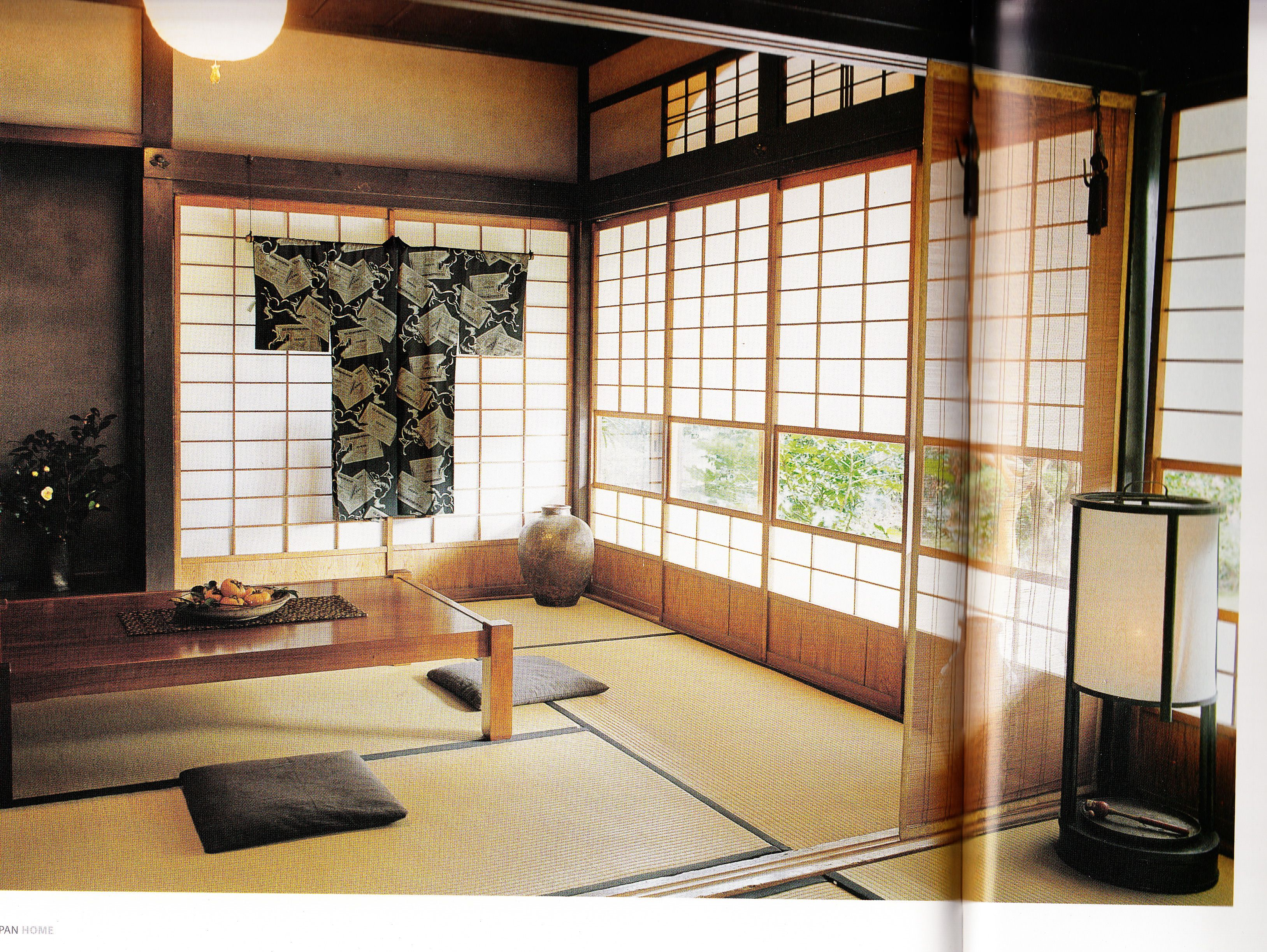 Interior Decor Japan Home Love The Bright Open Windows Lets You Feel Close To Nature Japanese Home Decor Japan Home Japanese House Living room japan style