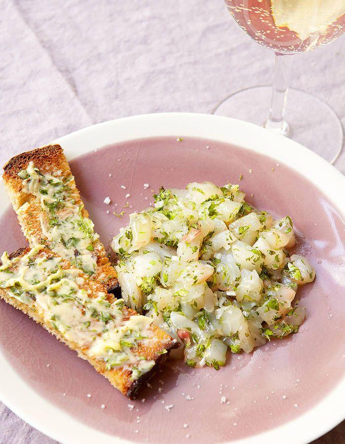 Tartare de poisson tout simple Recettes de cuisine