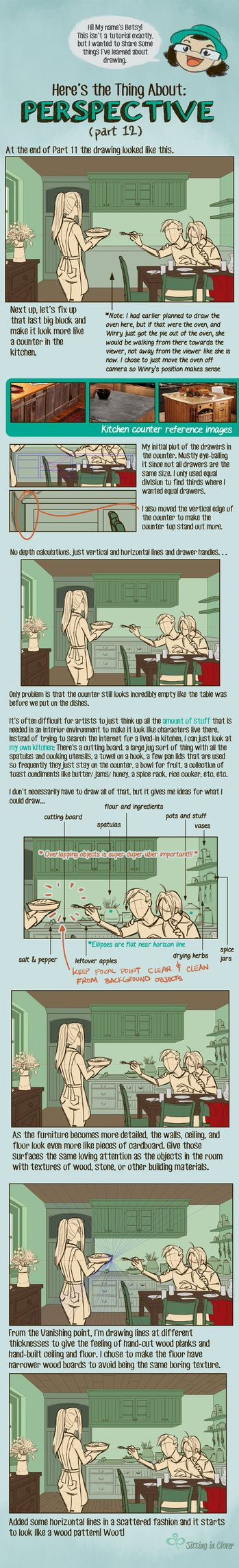 12 Here's the Thing About Perspective by betsyillustration.deviantart.com on @DeviantArt