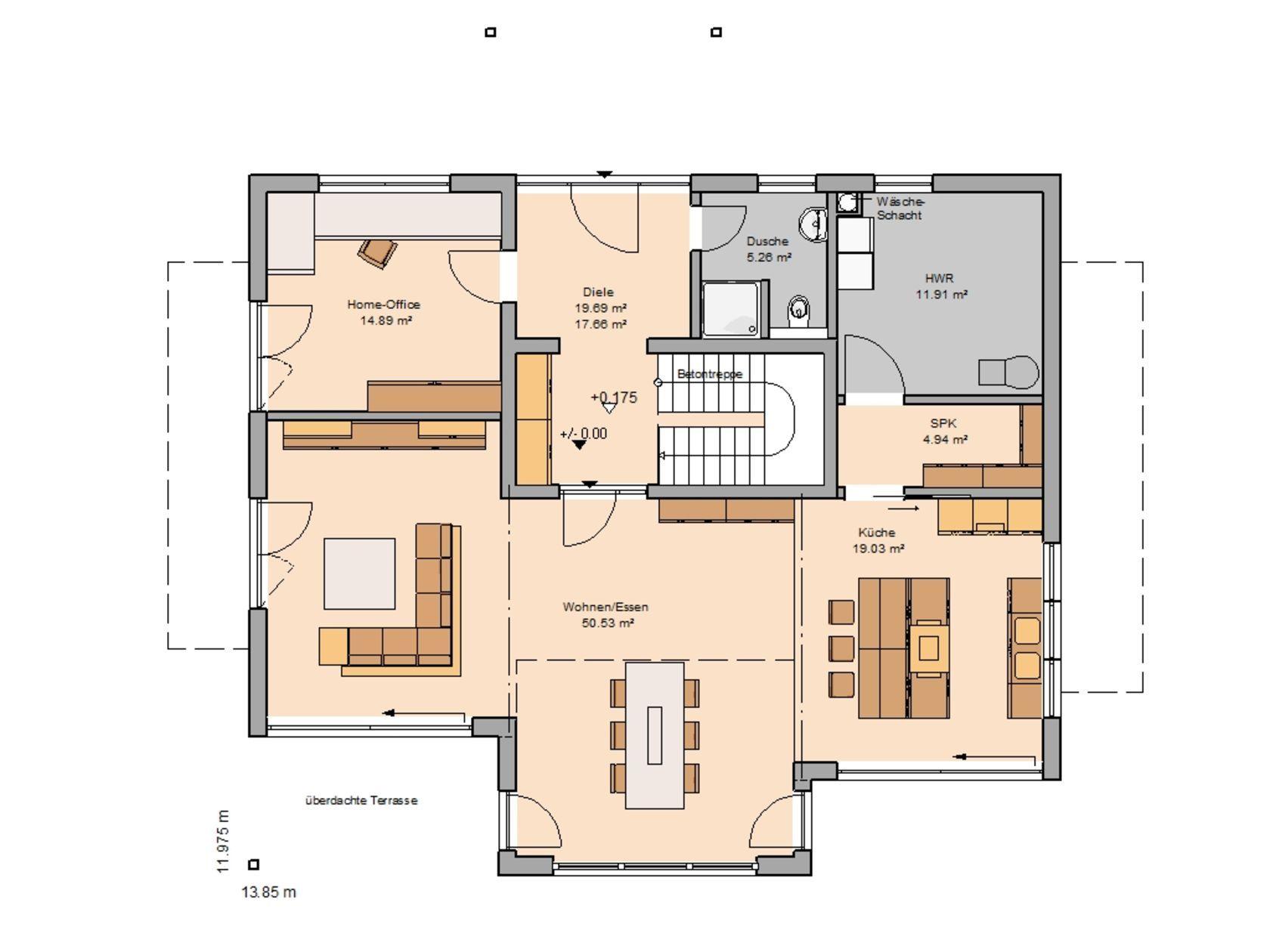 Familienhäuser in 2020 Haus grundriss, Familienhaus und