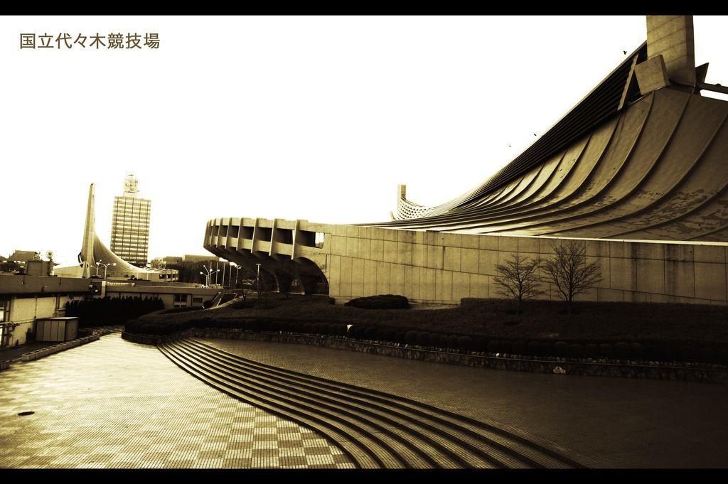 1964 Tokyo Olympics Stadium by Kenzo Tange | Arquitectura