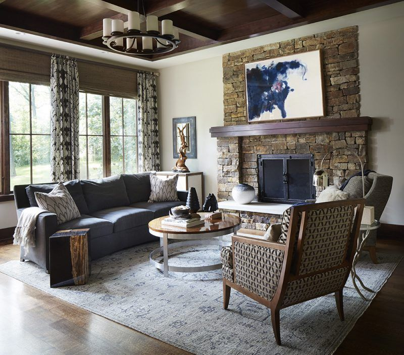 Mountain Inspired Home Design Susan Brunstrum Sweet Peas Decor Living Room Interior Inspiration Rustic
