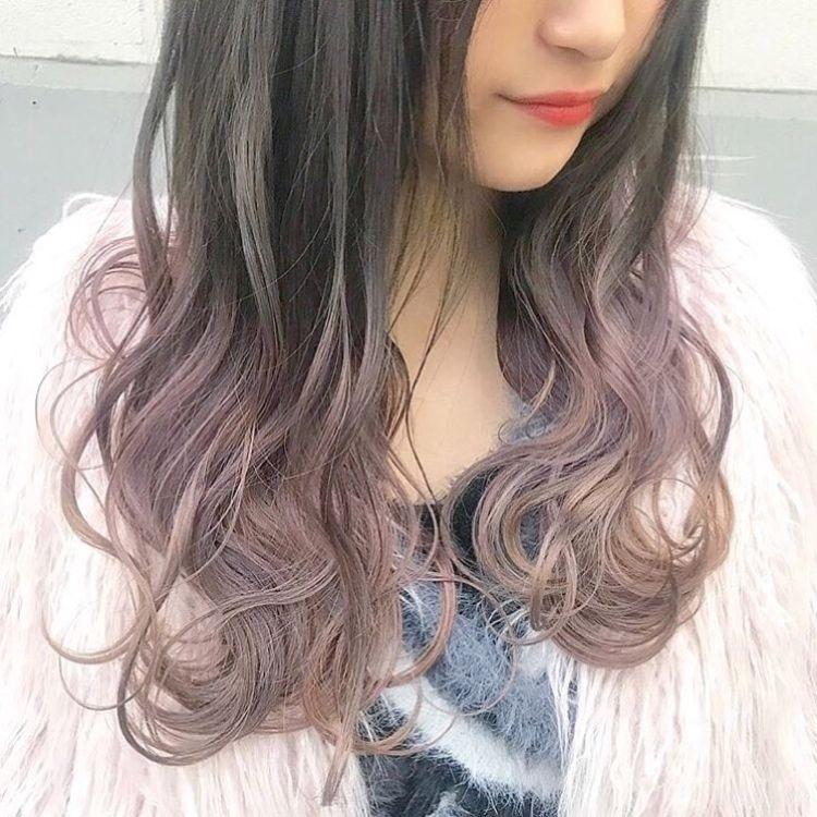 ラベンダーピンクグラデーション Hair By Kenjikunn1 最近は