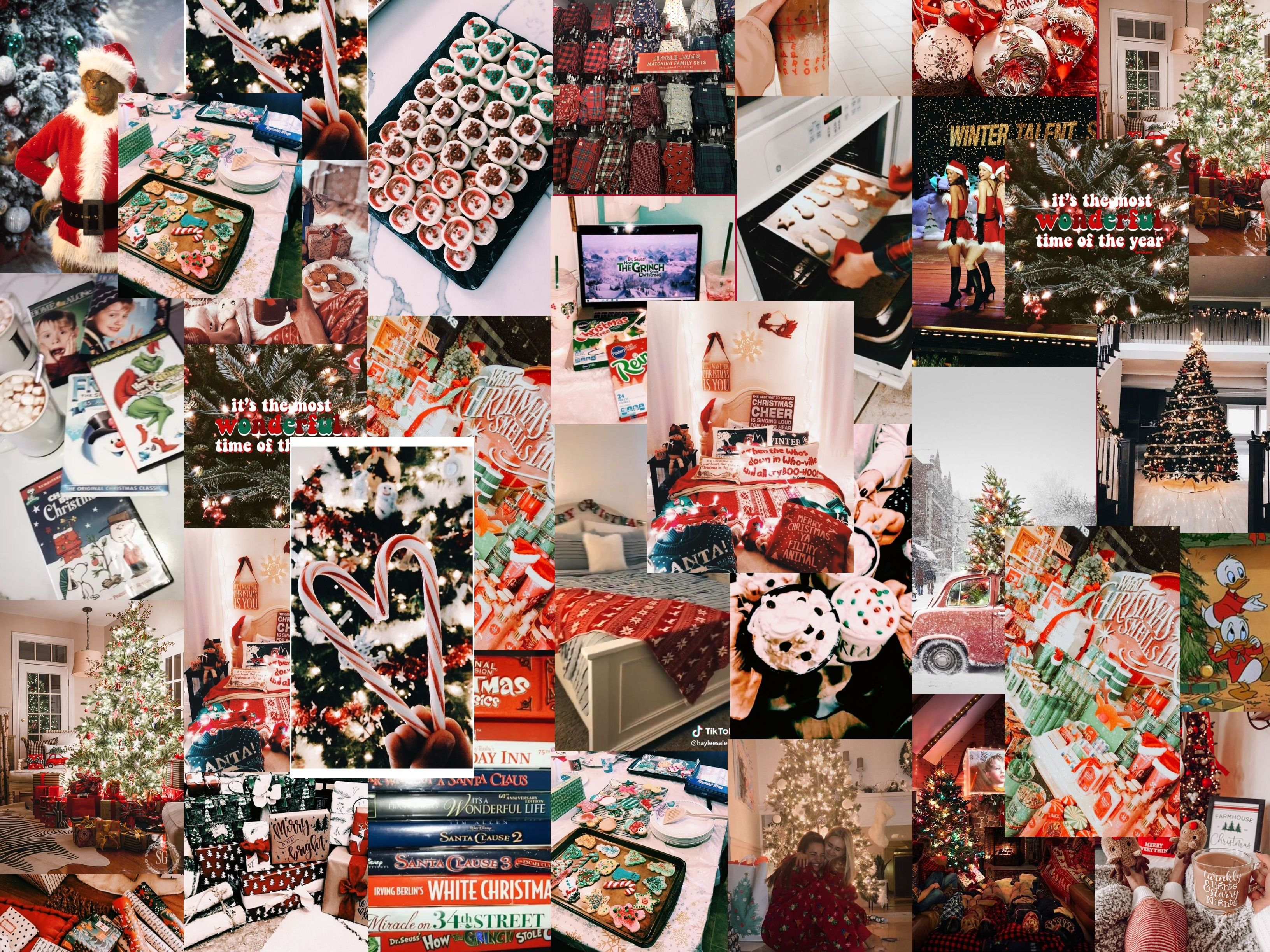 Christmas Wallpaper Collage