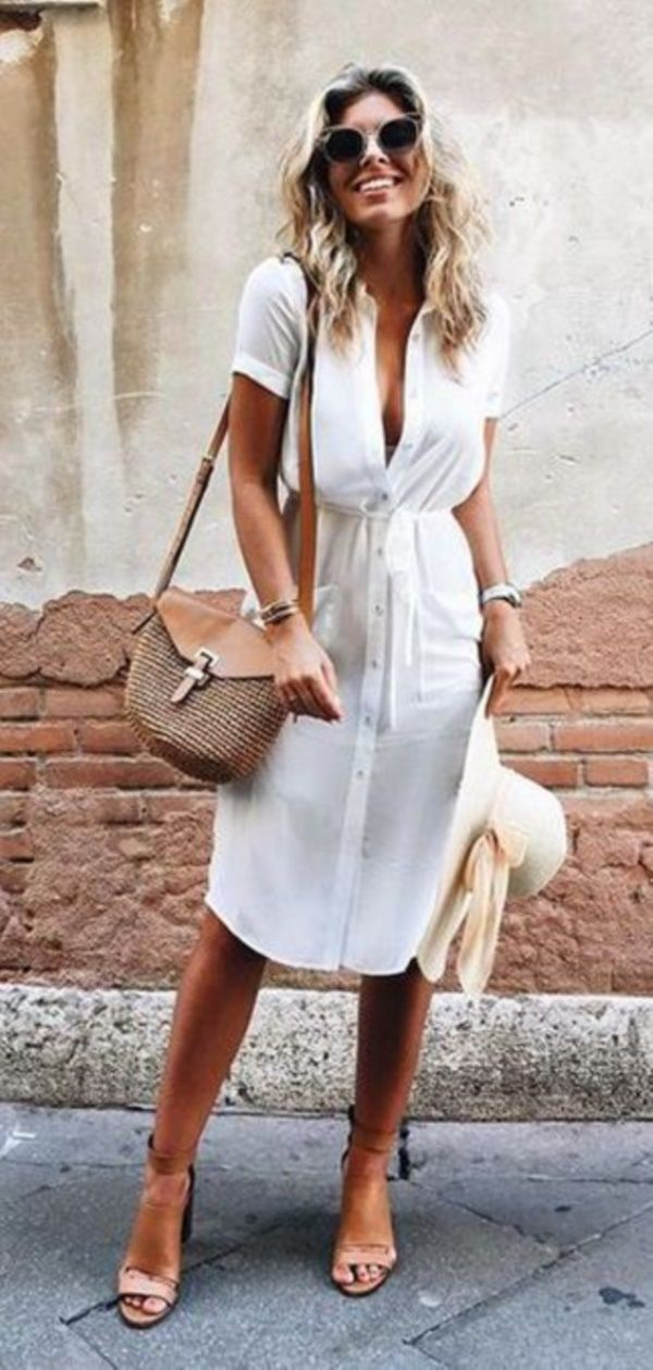 40 Chic Hourglass Figure outfits for women #chicsummeroutfits
