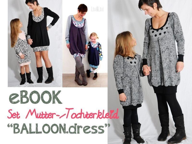 "eBOOK # 58+59 ✪ Set ""BALLOON.dress"""