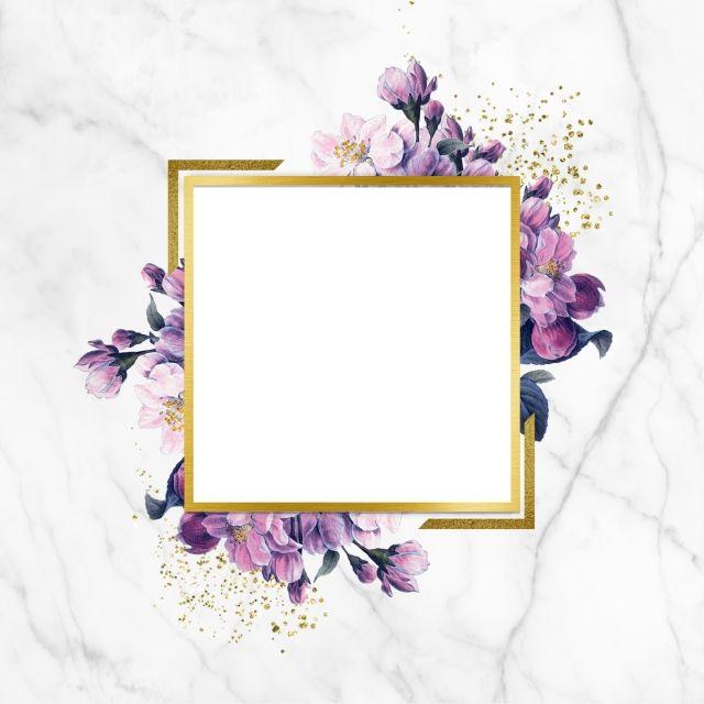 Elegant Floral Frame Floral Frame Glitter Marble Png Transparent Clipart Image And Psd File For Free Download Vintage Flowers Wallpaper Flower Background Wallpaper Flower Frame
