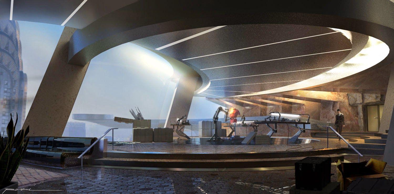 Unused Tony Stark Apartment Designs in AVENGERS Concept ...