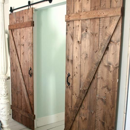 d co style industriel 10 portes coulissantes industrielles faire soi m me barn doors. Black Bedroom Furniture Sets. Home Design Ideas