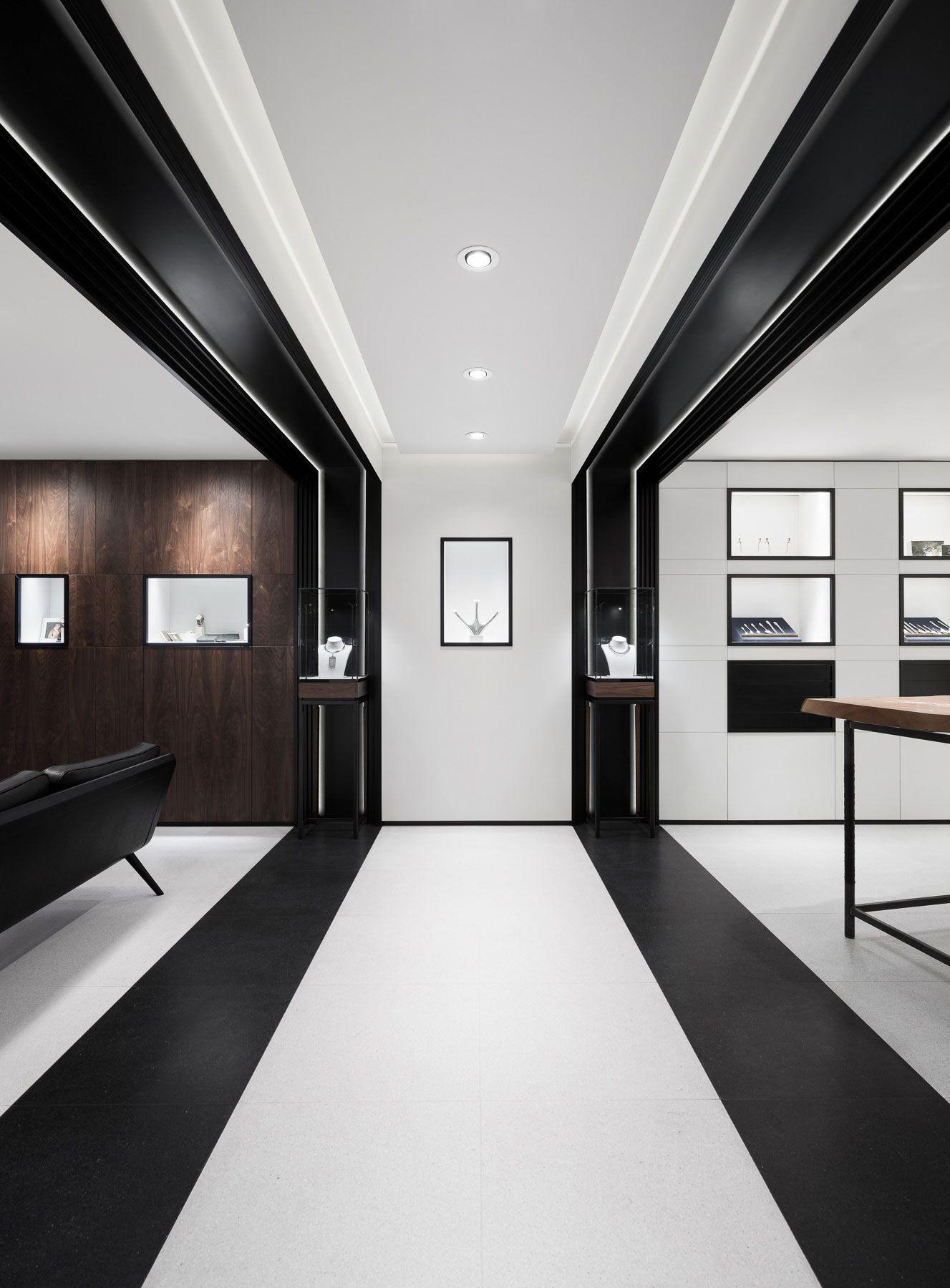 Georg jensen 39 s london boutique by studio david thulstrup for Studio interior design london
