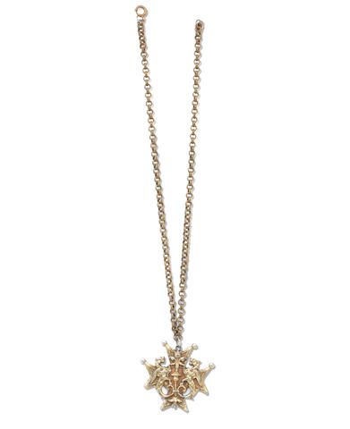 Plath Sylvia Sylvia Plath S Dragon Pendant And Chain With