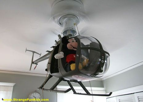 Cool Kids Ceiling Fan Helicopter
