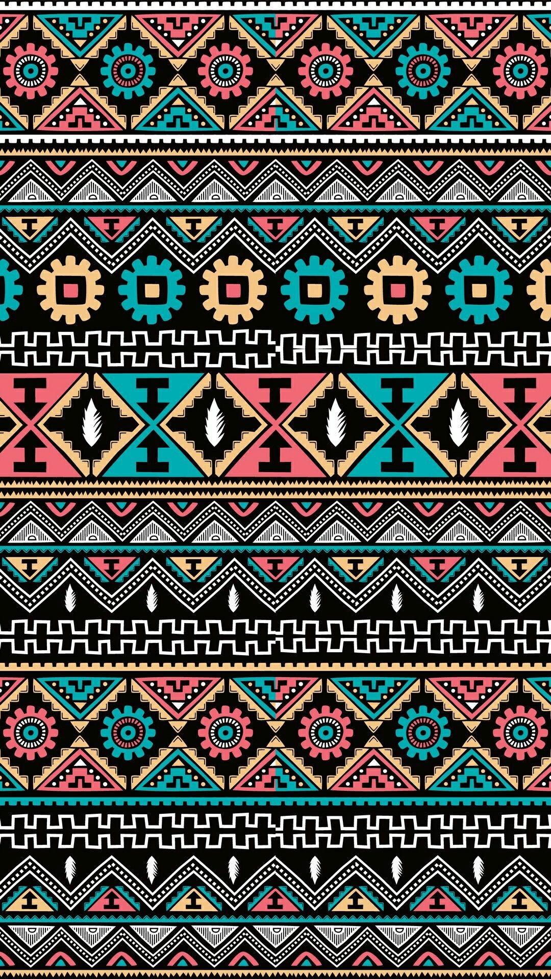 Pin by Zzxahra Ali on Iphone 6 wallpaper   Aztec pattern wallpaper, Aztec wallpaper, Bohemian ...