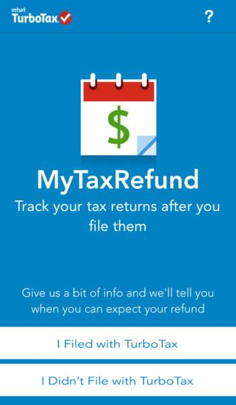 MyTaxRefund by TurboTax - Track your refund status  Quickly