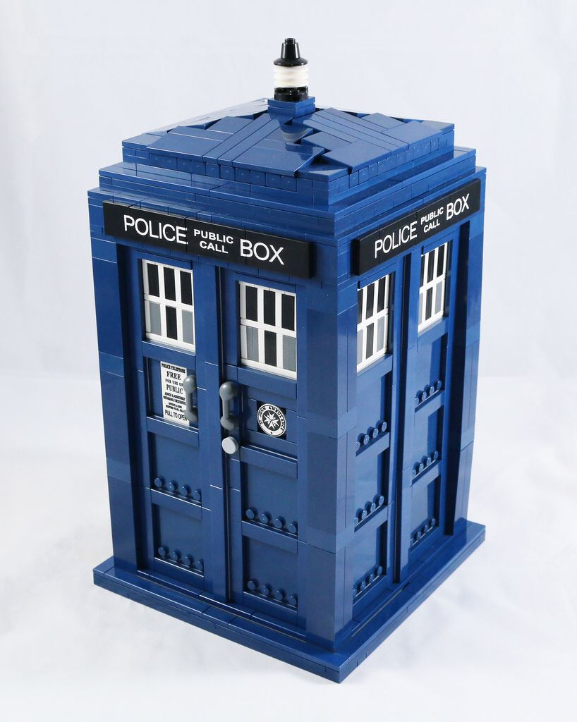 The TARDIS (updated tiles)