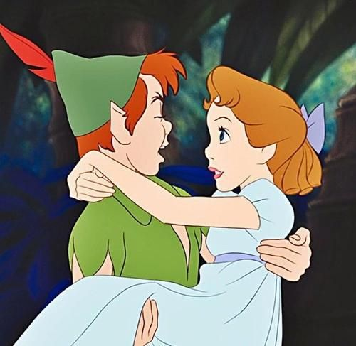 "rt ur cartoon otp on Twitter: ""peter pan and wendy http://t.co/wECAFAGWsx"""