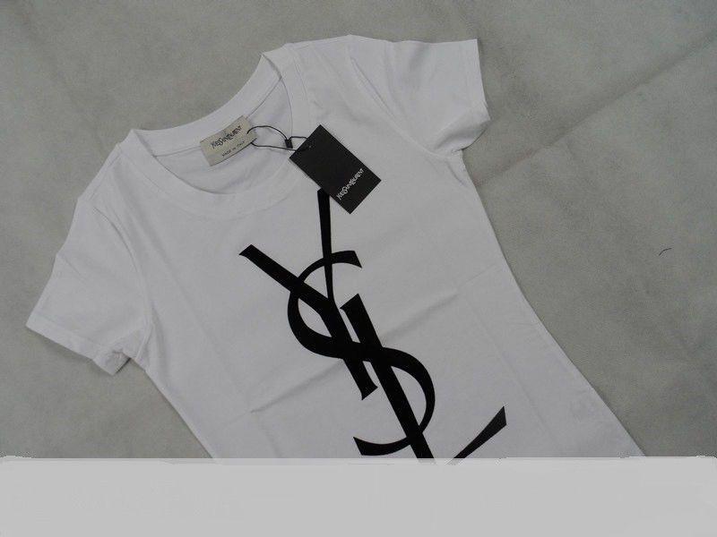 e9db4e903f5 Authentic Women's Yves Saint Laurent T shirt, ( small) velvet logo, New  W/Tags #YvesSaintLaurent #Tshirt