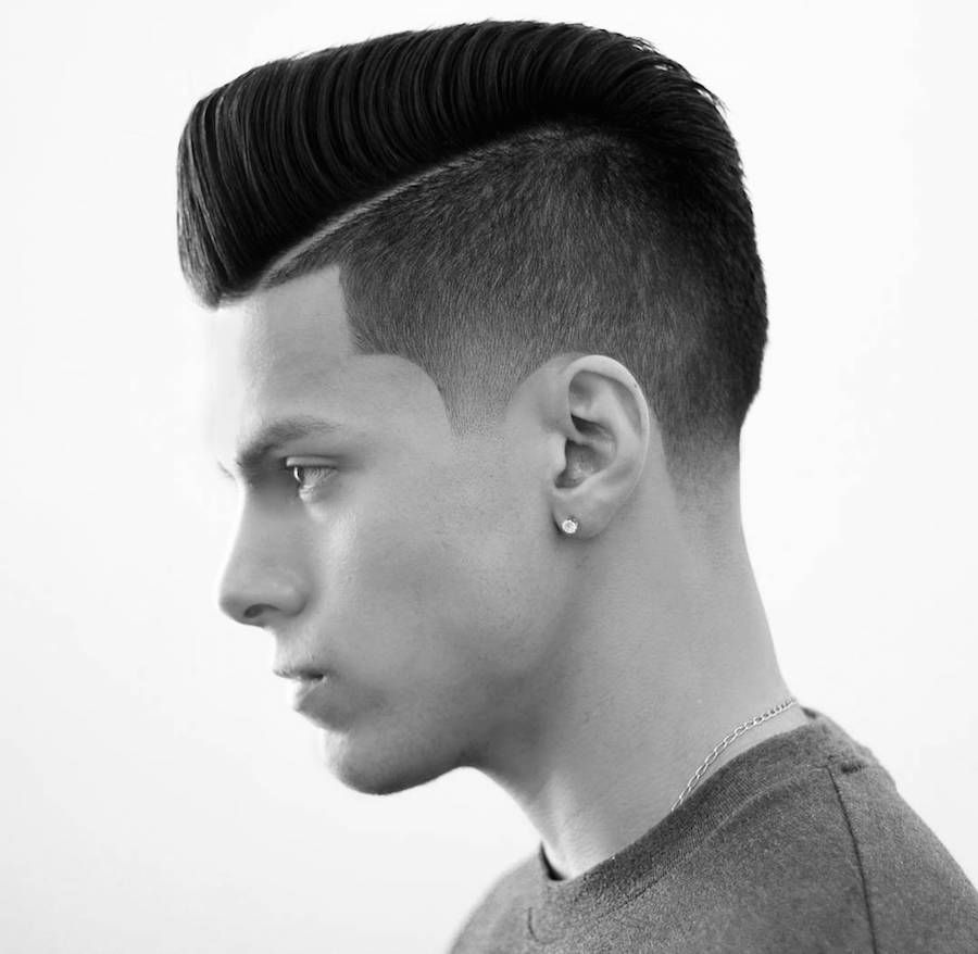 Image result for Clean Mid fade Comb over