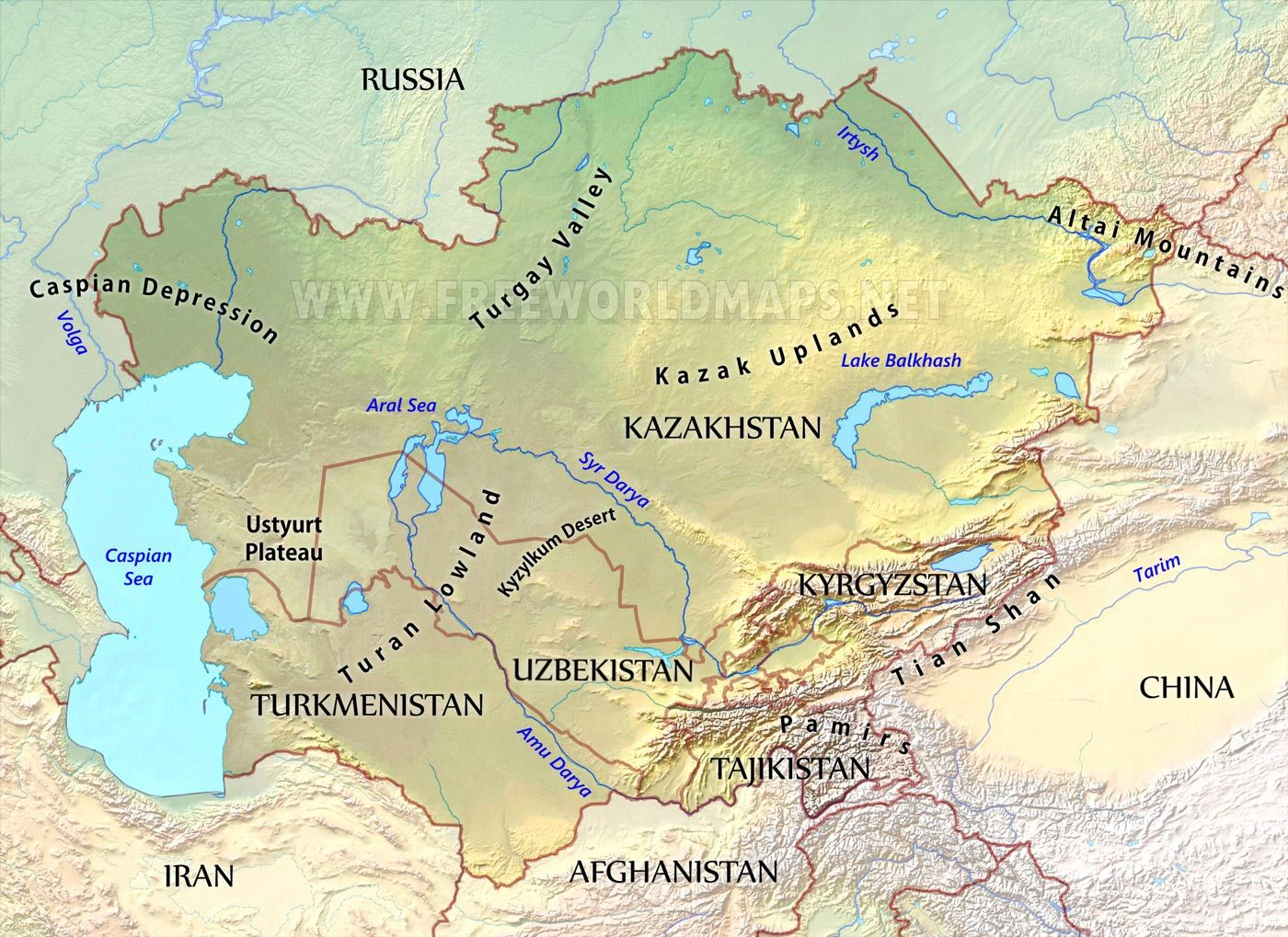 Related image | Asia | Asia map, Map quiz, Asia