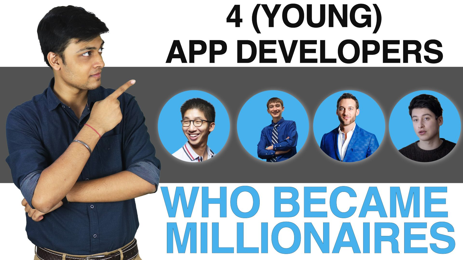 At an age where most millennials are hooked to mobile apps