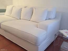 Divano Letto In Pelle Ikea.Ikea Divani 3 Posti Biancheria Metallo Pelle Cuscino Divano Ikea