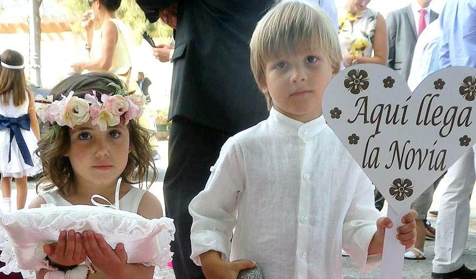 Cortejo de Arras Mis Polluelos Moda Infantil