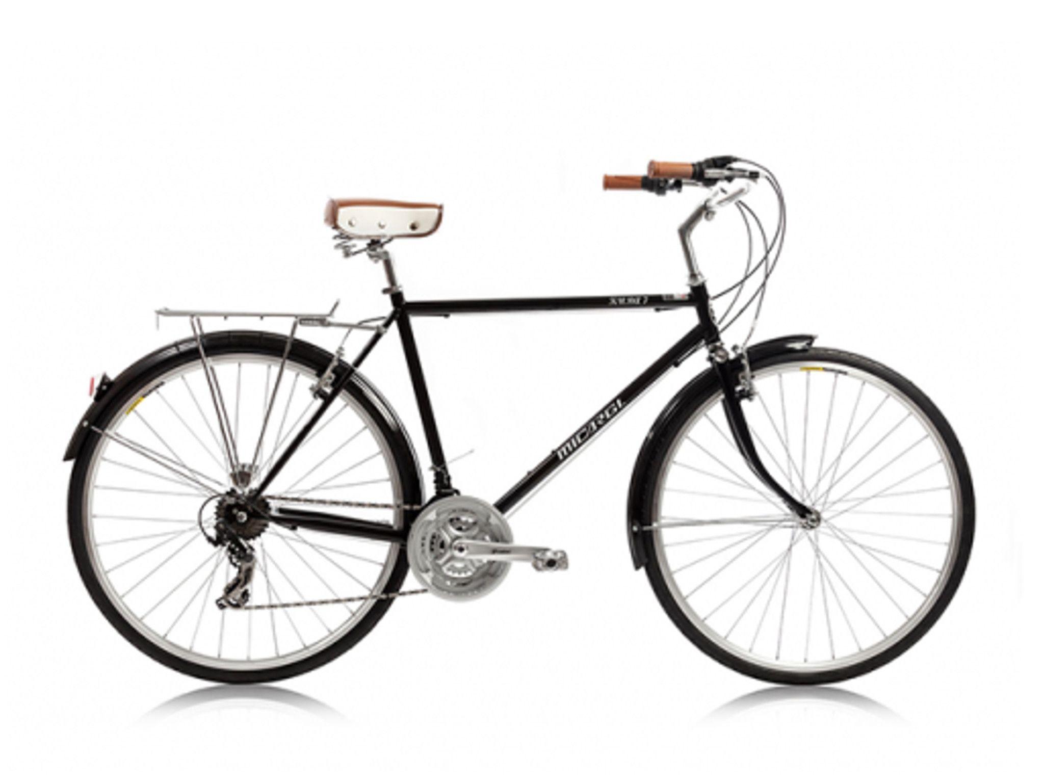 Micargi kuba 7 shimano 7 speed city commuter bike black vintage euro