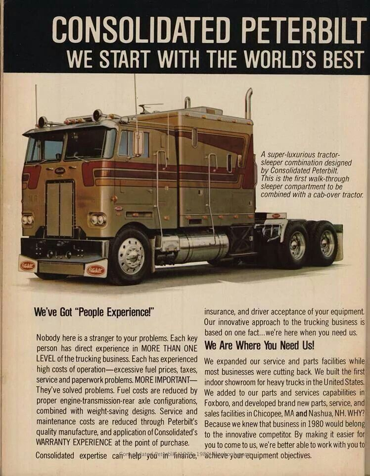 Peterbilt 372 Cabover. | Cabover Trucks: We Got Cabover ...