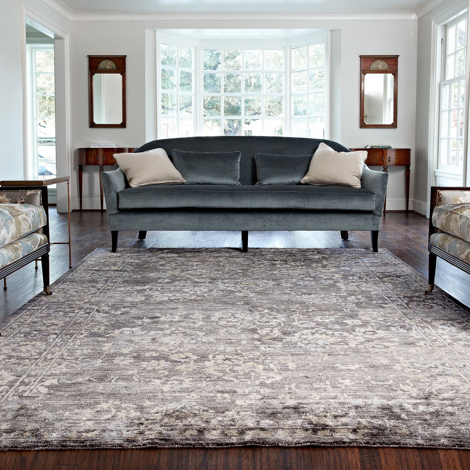 Loloi Mirage Raven Hand Knotted Rug