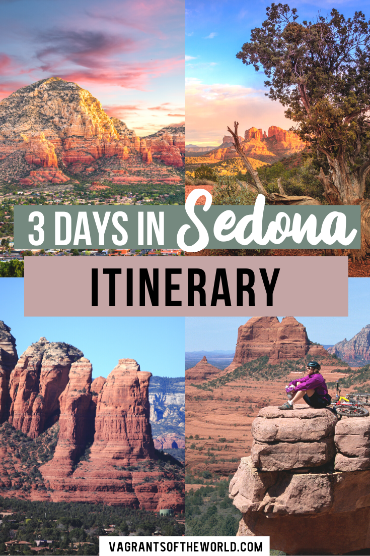 Looking to get outdoors in Arizona? Sedona is the perfect hiking destination with hundreds of beautiful hiking trails. If you have three days in Sedona, you have enough time to experience some unforgettable landscapes. While primarily a Sedona hiking itinerary, in this guide, you'll also find loads of other interesting attractions, restaurants and Sedona travel tips for an unforgettable trip.  What to do in Sedona   Sedona Itinerary   Sedona in 3 days   Weekend in Sedona Arizona  