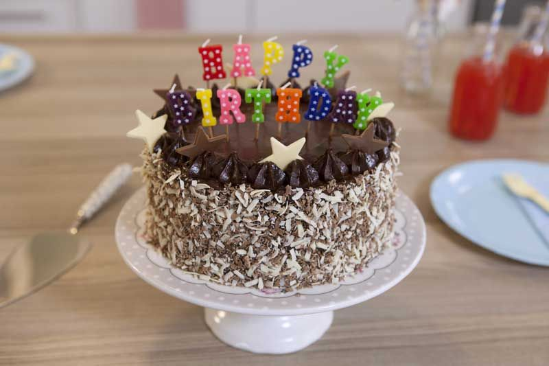 How to Bake a Birthday Cake food Pinterest Cupcake wreath