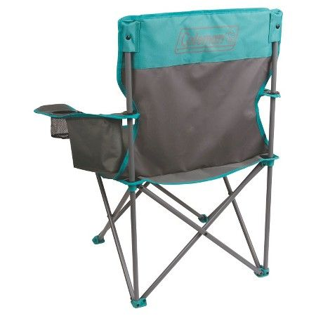 coleman cooler quad chair target wicker barrel grey teal my style