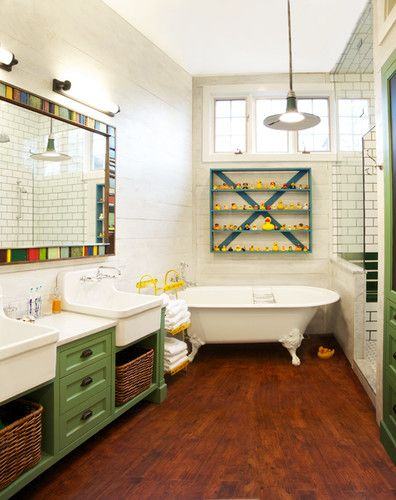 Ordinaire Great Kids Bath Country Chic Style Whimsical Bathroom   Eclectic   Bathroom    Chicago   Scott