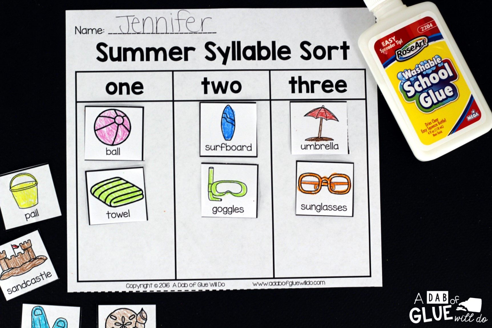 Summer Syllable Sort