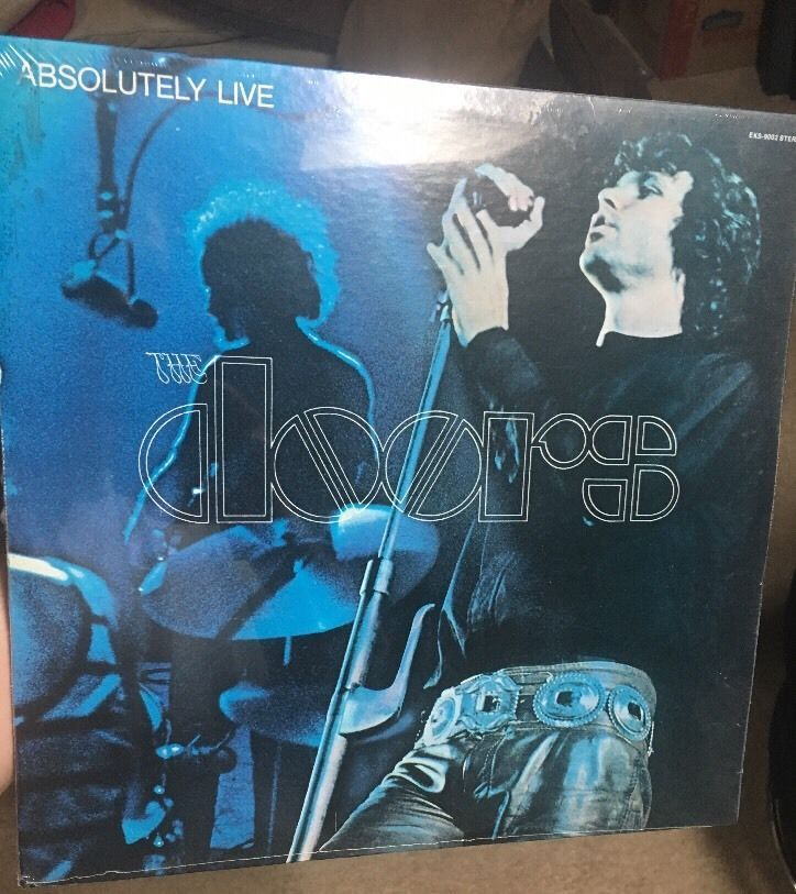 The Doors Absolutely Live double LP with live tracks #thedoors #live #vinyl # & The Doors Absolutely Live double LP with live tracks #thedoors #live ...