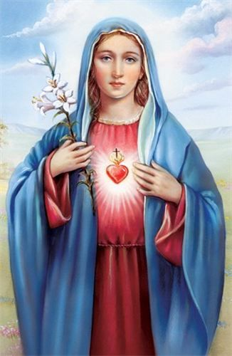 Hail Mary! Mother of God the Son.Hail Mary! Spouse of the Holy ...