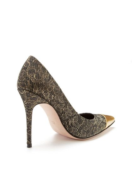 Jean-Michel Cazabat Glitter Pointed-Toe Pumps sale real websites cheap online in China online pVKeIruOmc
