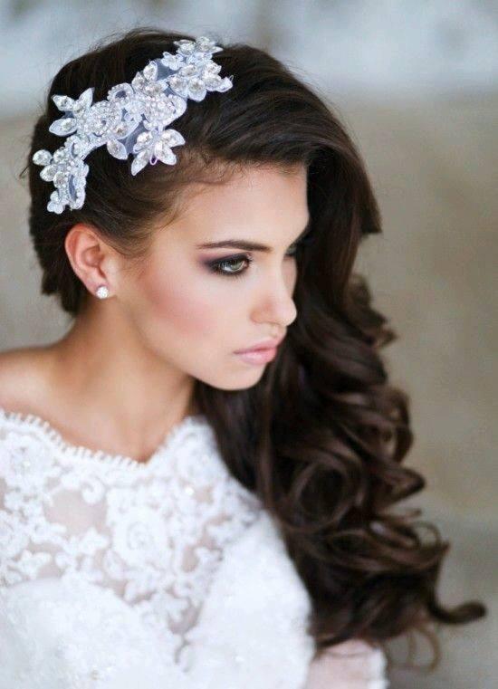 Peinados Para Novias Con El Cabello Suelto Fotos Daisy Wedding