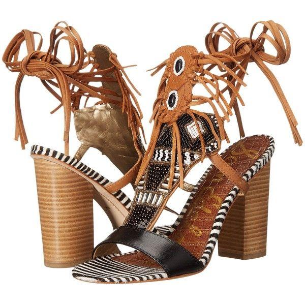 Womens Sandals Sam Edelman Yates Black/Saddle