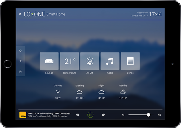 loxone s home automation app for iphone and android loxone interactive tableplay