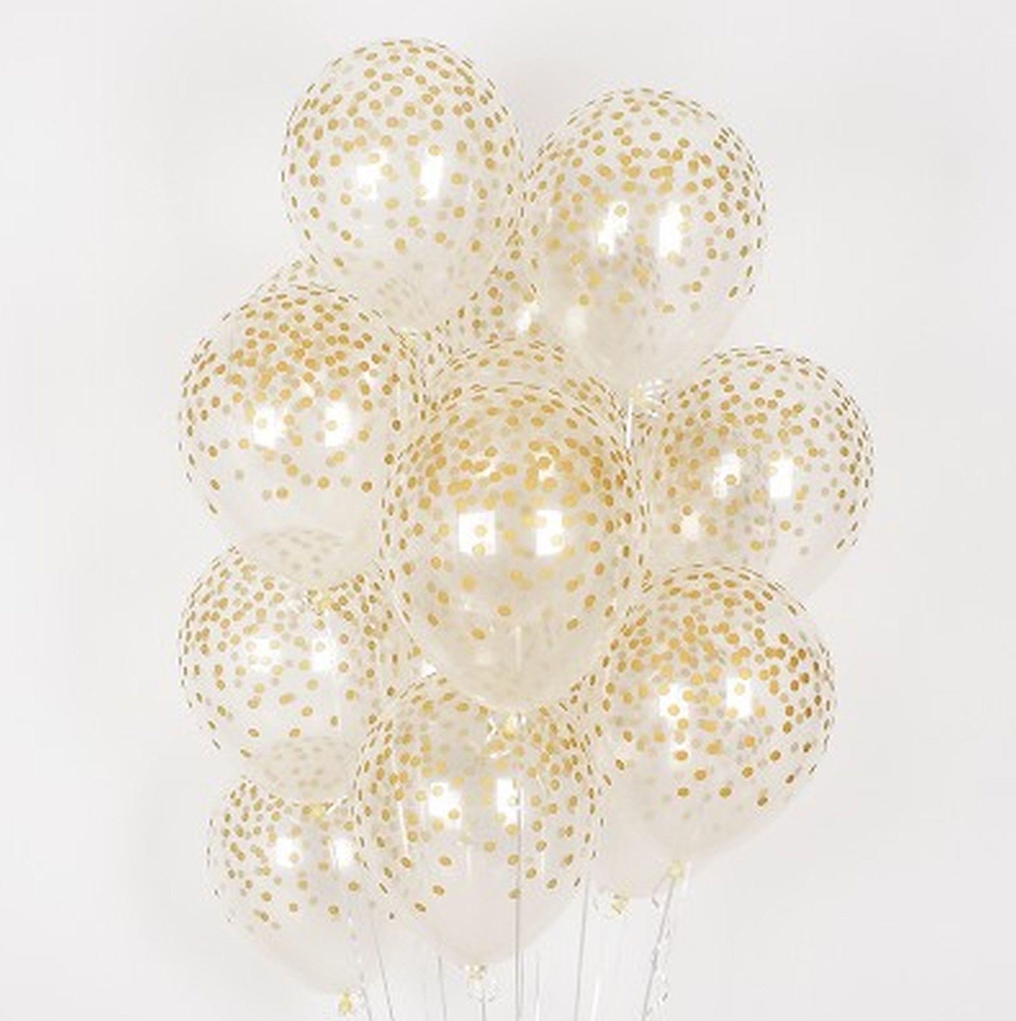 20X Gray Polka dot Latex Balloons Birthday Babyshower Wedding Party Decorations
