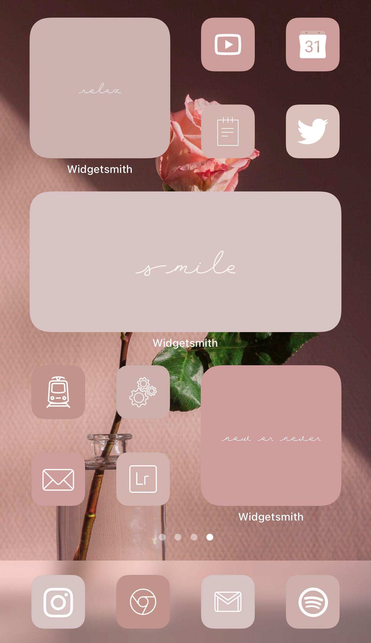 Rose Pink Neutral Aesthetic Ios 14 Ipados App Icons Ios14 Widget Cover Photos Widgetsmith Aesthetic App Icon Pack Aesthetic Icons Iphone Ios App Iphone App Icon Ios App Icon