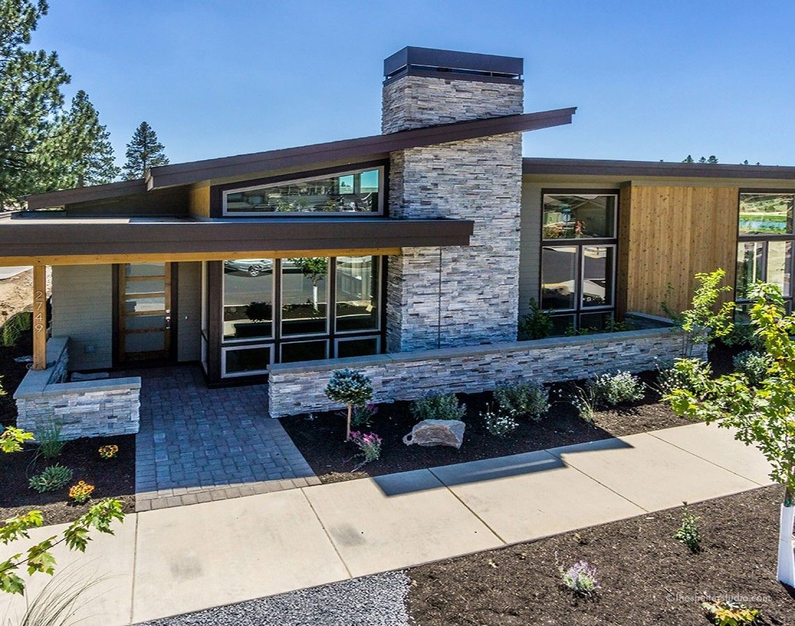 Gallery of custom home designs plans the shelter studio bend or