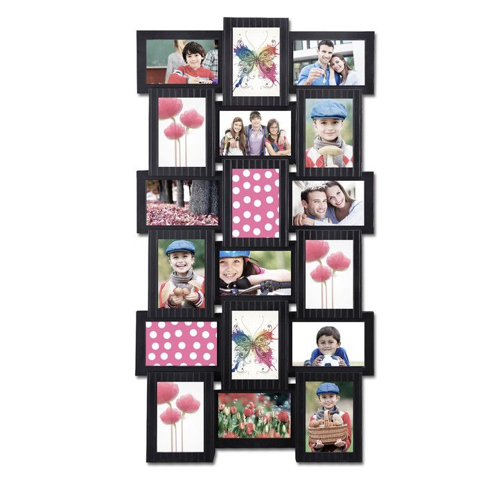 You\'ll love the 18 Opening Plastic Photo Collage Wall Hanging ...