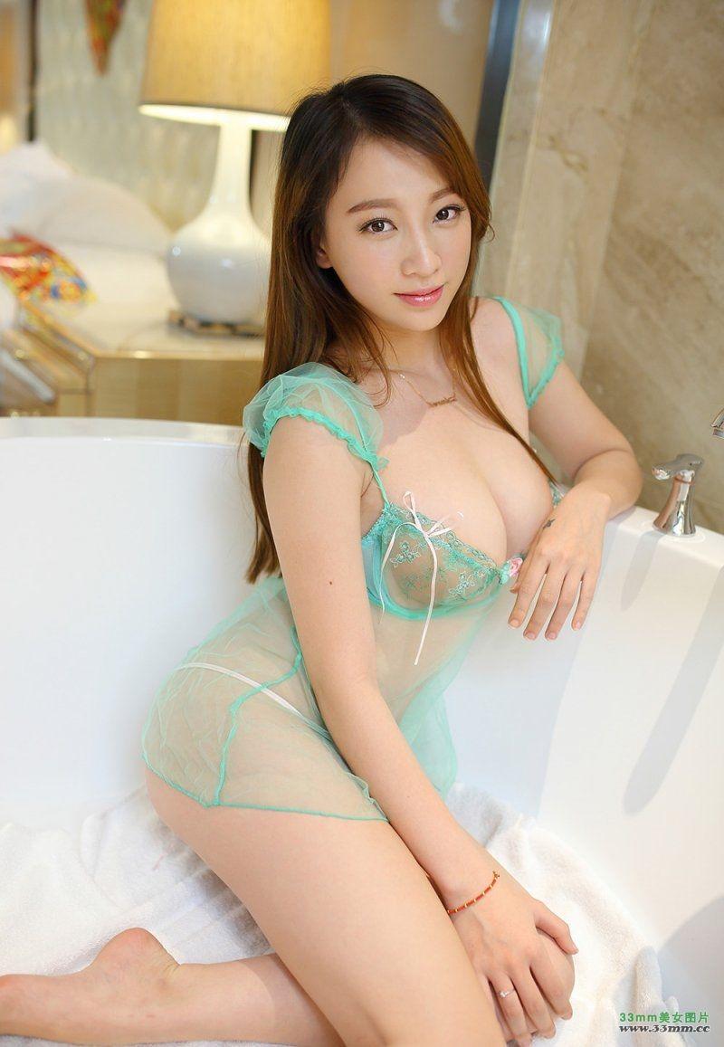 Ǿ�胸美女丽莉lily薄纱遮体羞涩照片 Nice Pinterest Curves Japanese