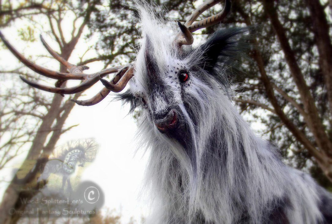 -SOLD- Hand Made Posable Silver Prehistoric Stag! by Wood-Splitter-Lee on DeviantArt
